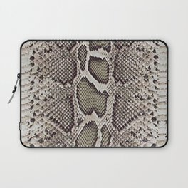 Faux Boa Constrictor Snake Skin Design Laptop Sleeve