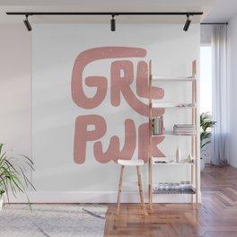 GRL PWR Wall Mural