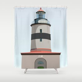 The lighthouse of Falsterbo Shower Curtain