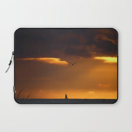 Saiboat at Sunset Laptop Sleeve