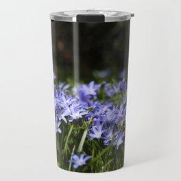 Blue Scilla Travel Mug