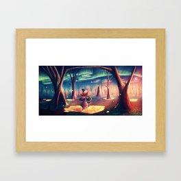 HEFFALUMPS & WOOZLES Framed Art Print