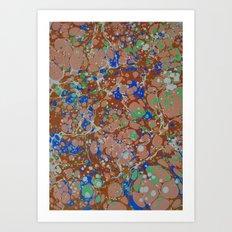 Marble Print #49 Art Print