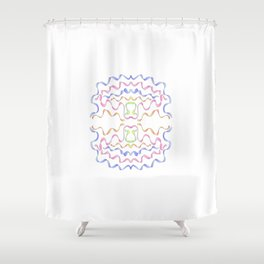 ribbon 11-ornamental,fabrics,fashion,decorative,girly,gentle Shower Curtain