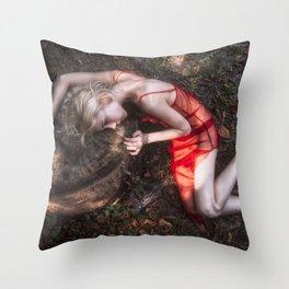 Apsarasa Throw Pillow