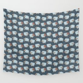 Counting Sheet - Doodle Children Pattern Wall Tapestry