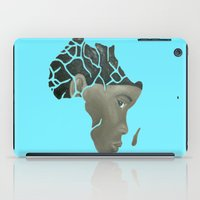 african iPad Cases featuring African Continent by ArtSchool