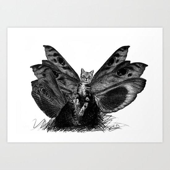 raptors Art Print