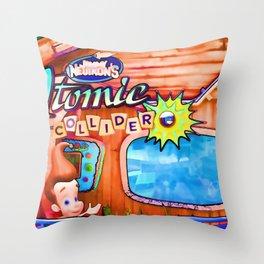 Jimmy Neutron's Attomic Collider Throw Pillow