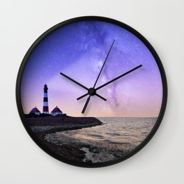 Light the Way Wall Clock