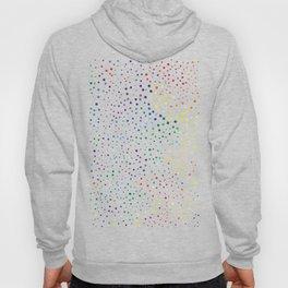 rainbow color geometric Hoody