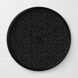 Dark Reptile Skin Wall Clock