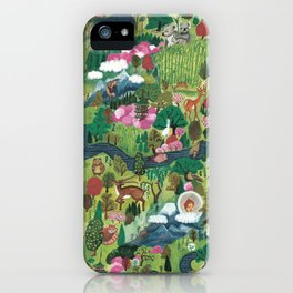 japan forest iPhone Case