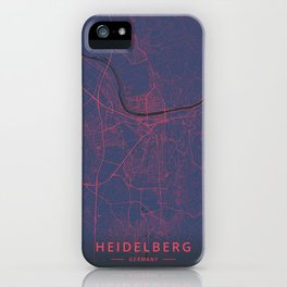 Heidelberg, Germany - Neon iPhone Case