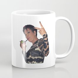Peace Out Kris Jenner Coffee Mug