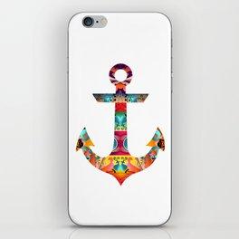 Decorative Anchor iPhone Skin