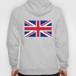 UK FLAG - The Union Jack Authentic color and 3:5 scale  Hoody