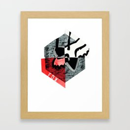 Fox Racing  Helios Framed Art Print