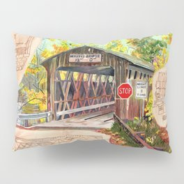 Rebuild the Bridge Pillow Sham