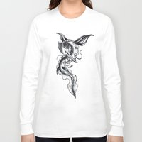 hydra Long Sleeve T-shirts featuring Hydra by STiCK MONSTER iNK