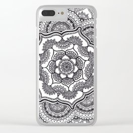 Spring Lotus Clear iPhone Case