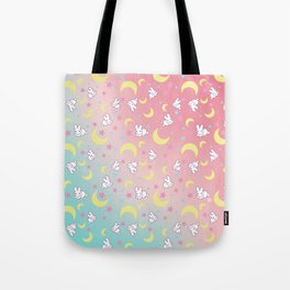Sailor Moon Bunny's Pattern Tote Bag