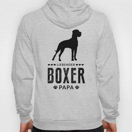 Boxer Dad German Boxer Dog Lover Dog Owner Hoody