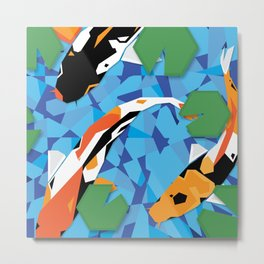 Swimmy Little Fish Metal Print