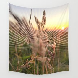 Peel sunset lll - sunset graphic Wall Tapestry