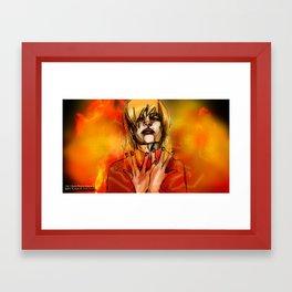 Kajimono (Flames of Halcyon) Framed Art Print