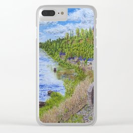 Chinon France Clear iPhone Case