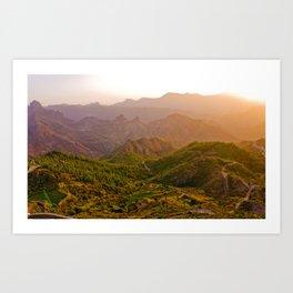 Gran Canaria 1.3 Art Print