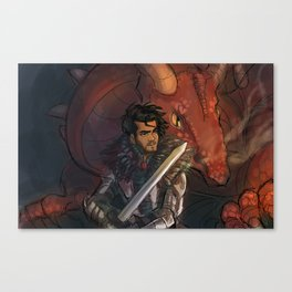 Dragons and Direction: Zayn Canvas Print