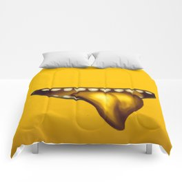 Big Mouth (Yellow) Comforters