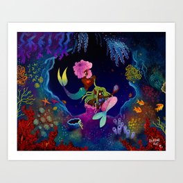 Girl, I got you! Art Print