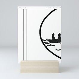 explore the unknown water online Mini Art Print
