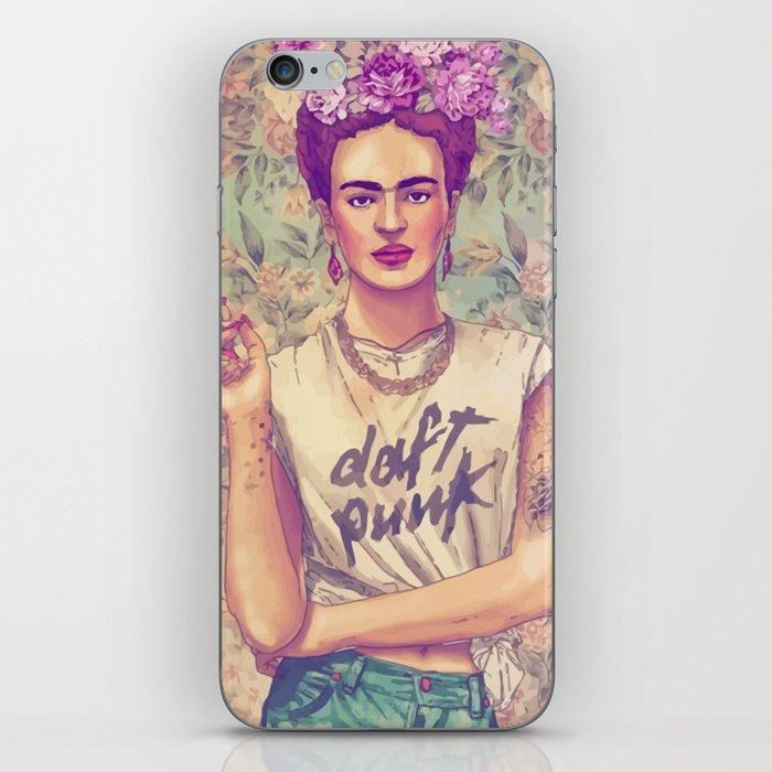 Frida Punk! iPhone Skin