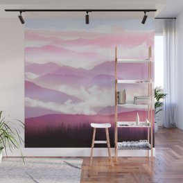 Candy Floss Mist Wall Mural