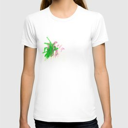 First paint abstract by Keira T-shirt