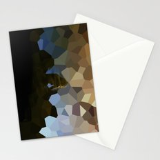 The polygon solitude  Stationery Cards