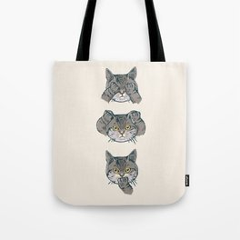 No Evil Cat Tote Bag
