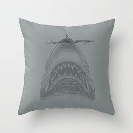 NICE TO EAT YOU Throw Pillow