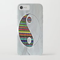 ying yang iPhone & iPod Cases featuring Ying Yang by ArtSchool