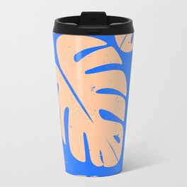 Monstera Leaf Print 5 Travel Mug