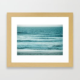 Ocean Ripples Framed Art Print