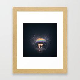 Loverain Framed Art Print