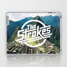 The Strokes Logo Machu Picchu Laptop & iPad Skin