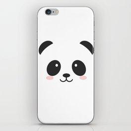 Cute Panda iPhone Skin