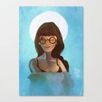 daria Canvas Prints featuring Daria by gapinska