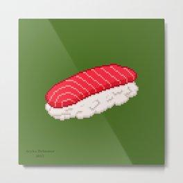 Sushi - Tuna Metal Print